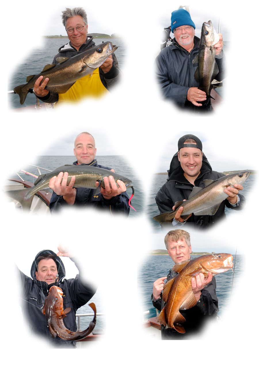 Tory Island reefs are fishing as good as ever I remember them.